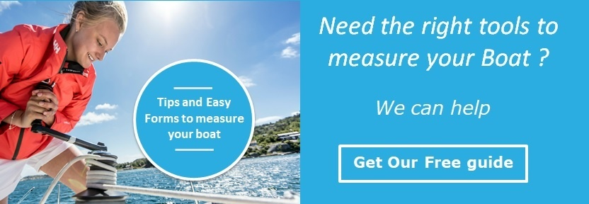 Boat measurement guide